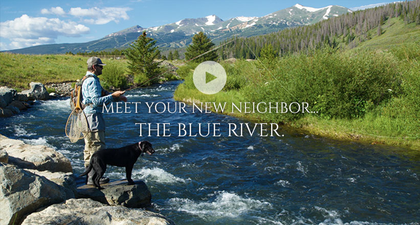 Meet your new neighbor, the Blue River. Click to see video.